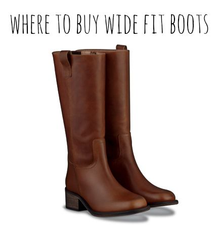Where to Buy Wider Fitting Boots #plus #size #fashion #boots