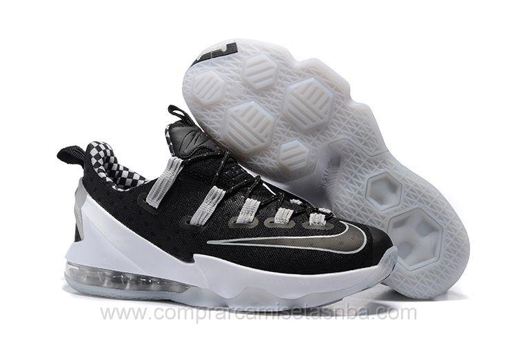 new york a8efd 4775f Zapatillas baloncesto baratas Nike negro6 Lebron James 13 XIII hombre
