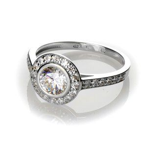 Zásnubný prsteň JK_R055 B
