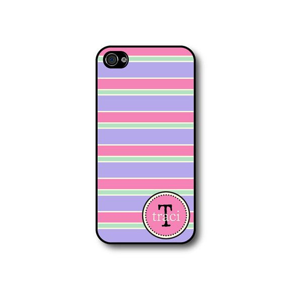 Personalized Iphone 4 Case Monogram