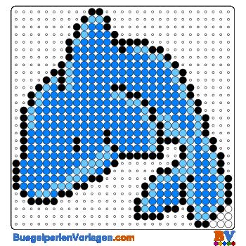Delphin Bugelperlen Vorlage Auf Buegelperlenvorlagen Com Kannst Du Eine Grosse Auswahl An Bugelperlen Vorlag Bugelperlen Vorlagen Bugelperlen Bugelperlenbilder