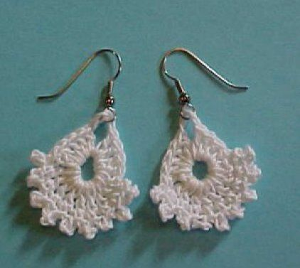 Beautiful Crochet Earring Designs and Ideas - Life Chilli  #Beautiful #Chilli #Crochet #desig... #crochetedearrings