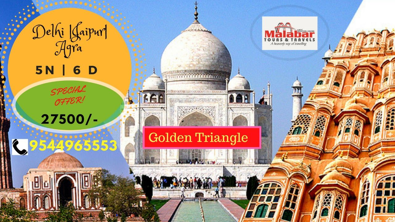 Days Golden Triangle Tour India The Itinerary Of 6 Days Delhi Agra Uttar Pradesh Jaipur Rajasthan Holiday Package Offers To Explore