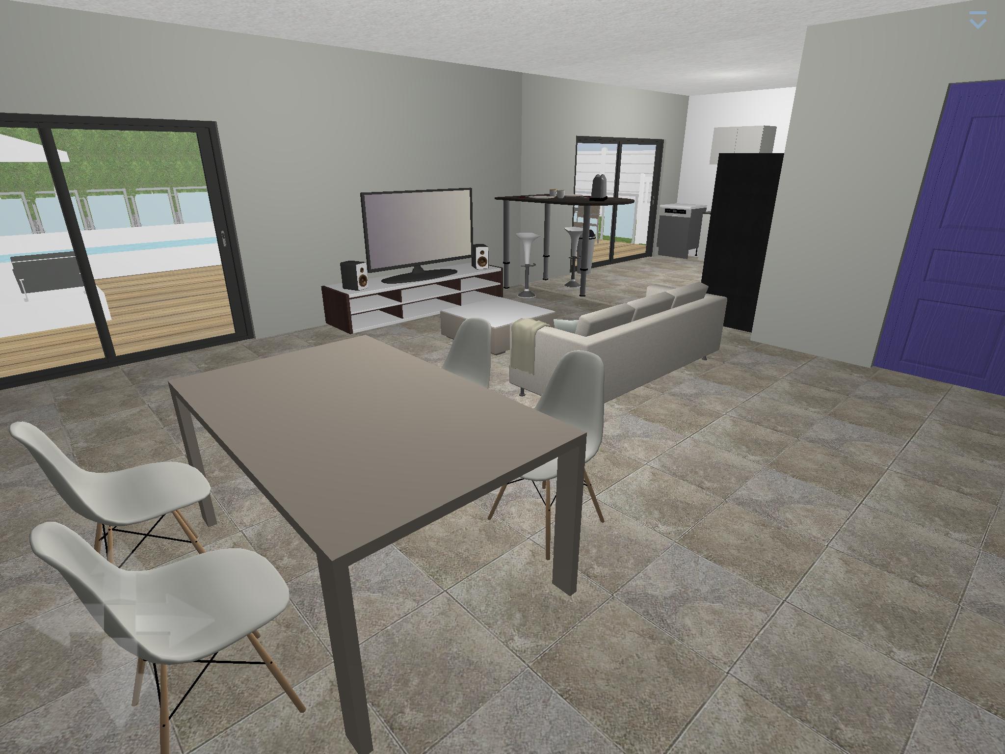 Stunning Plan D Salon Salle Manger Logiciel Home Design D Gold.