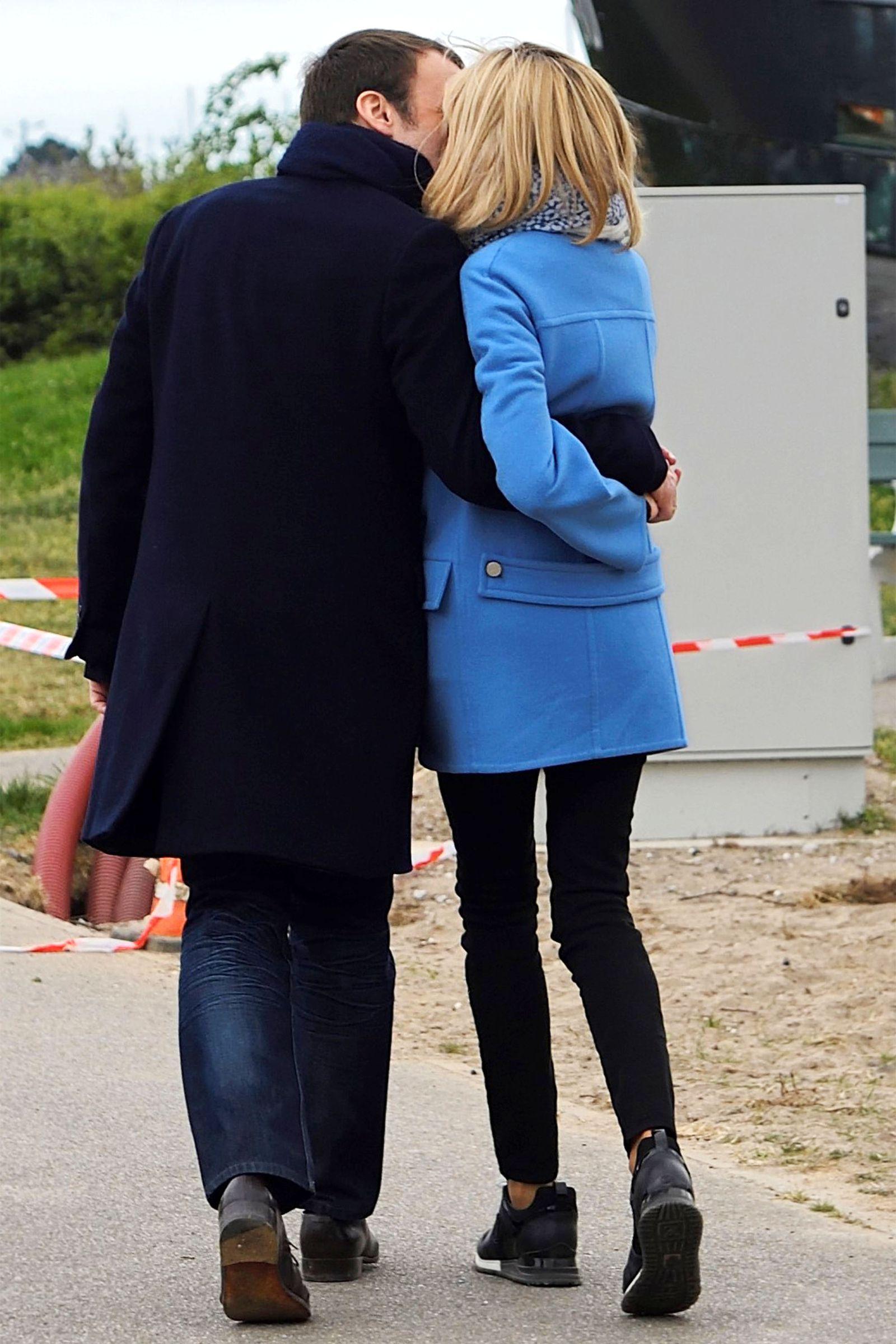 Emmanuel and Brigitte Macron's Sweetest Moments in 2020