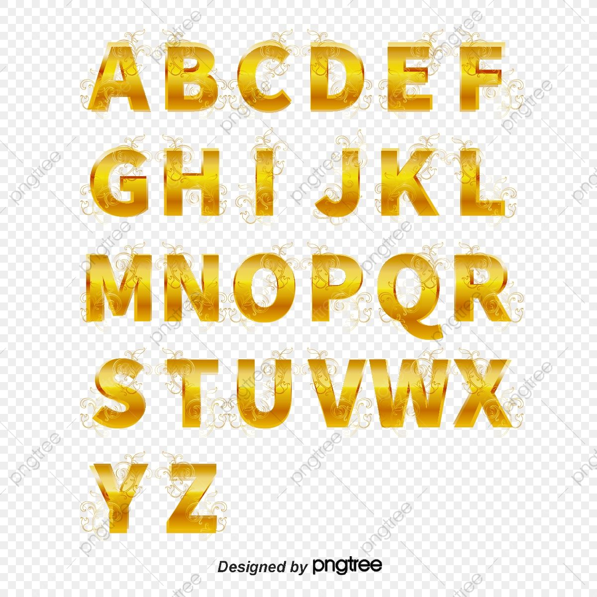 Gold Letters Effect Golden Letter Golden Effect Png And Vector With Transparent Background For Free Download Gold Letters Lettering Letters