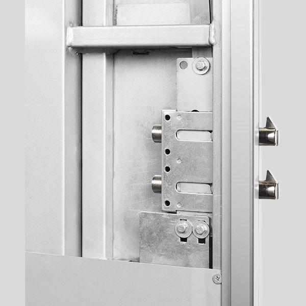 Desviadores Puertas De Seguridad Marco De Acero Perfiles De Aluminio