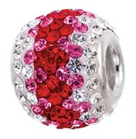 Valentine's Day bead I bought for me.  Hey if nobody buys them for me, I have to get them for me.