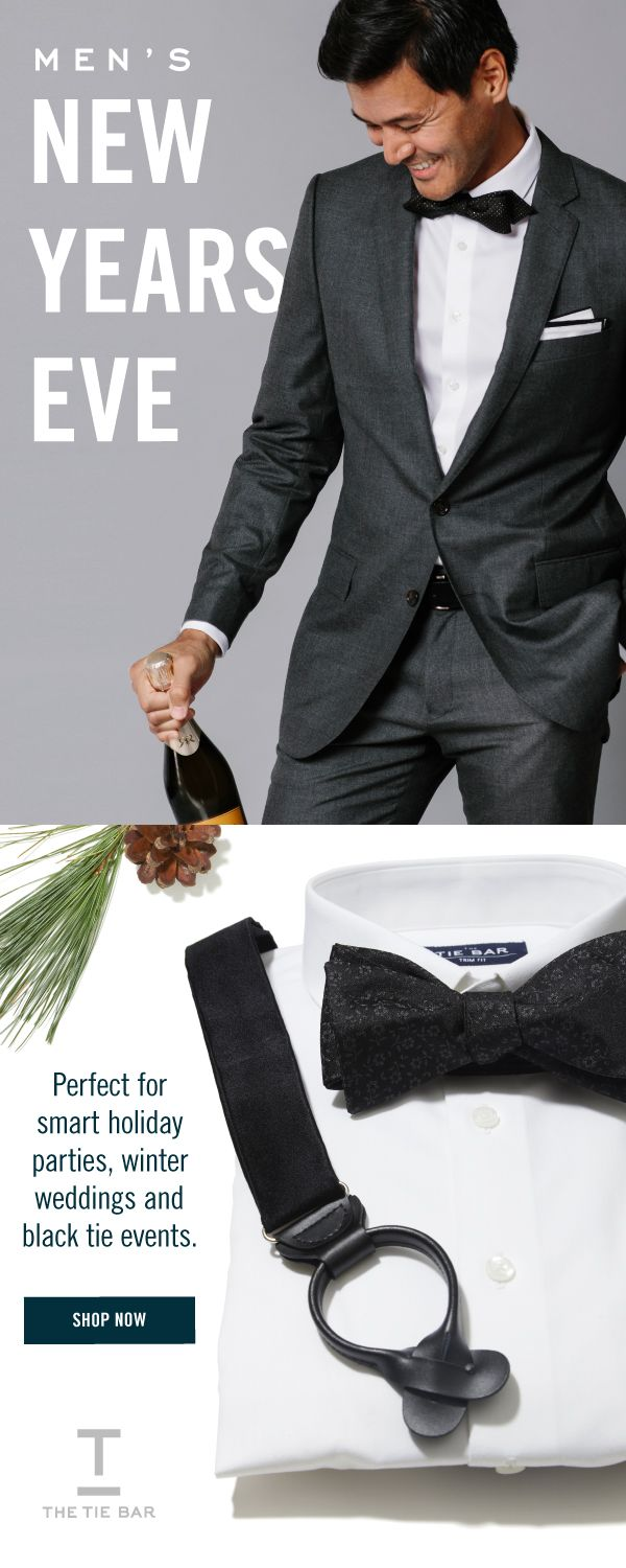 734917fcae1e6 Men's New Years Eve Outfit - Perfect for smart Holiday Parties, winter  weddings and black tie events. #newyearsparty #mensfashion