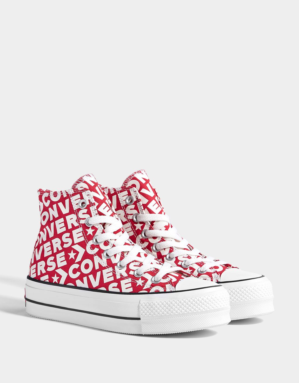 converse all star plateforme femme