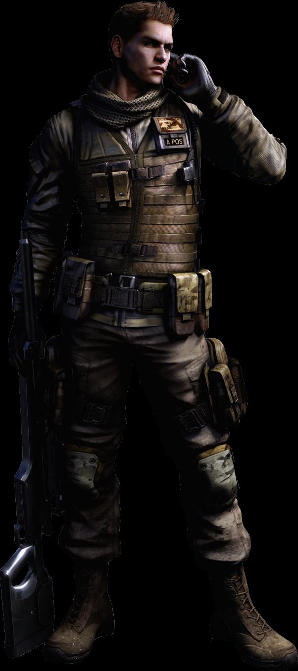 Piers Nivans Re6 Resident Evil Heros Personnages