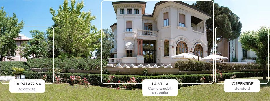 HOTEL DE LA VILLE RICCIONE Villa, House styles, Mansions