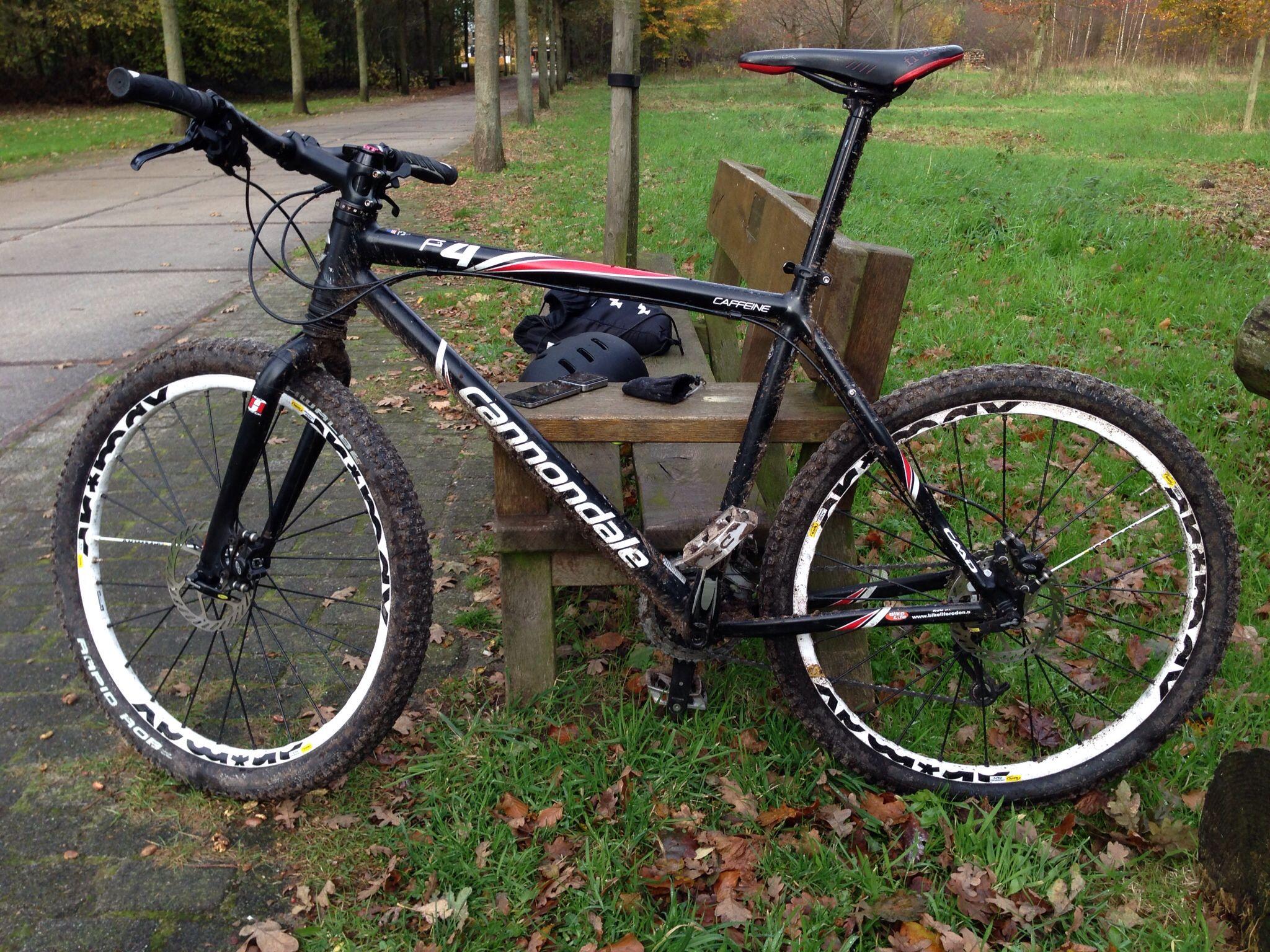 My Ride A Cannondale F4 With Mavic Crossmax Sx Wheels Bike