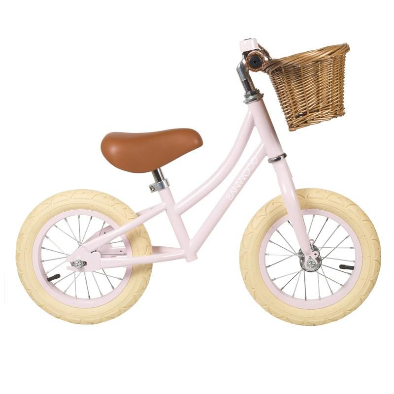 Laufrad Balance Bike Quot First Go Girl Quot In Rosa Ab 2 5