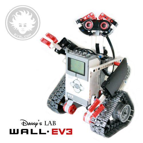 A Lego Wall E Made With Lego Mindstorms Education Ev3 Get The