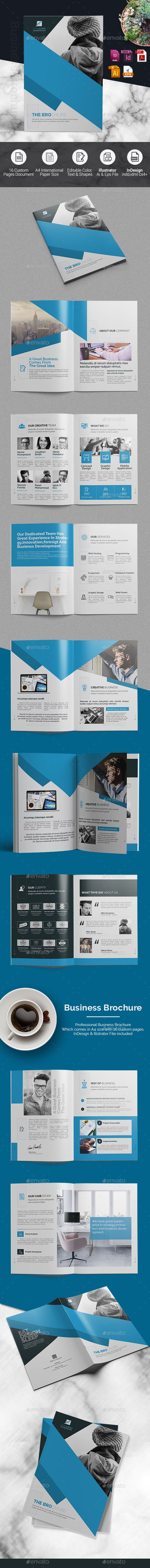 Corporate Brochure -InDesign Template