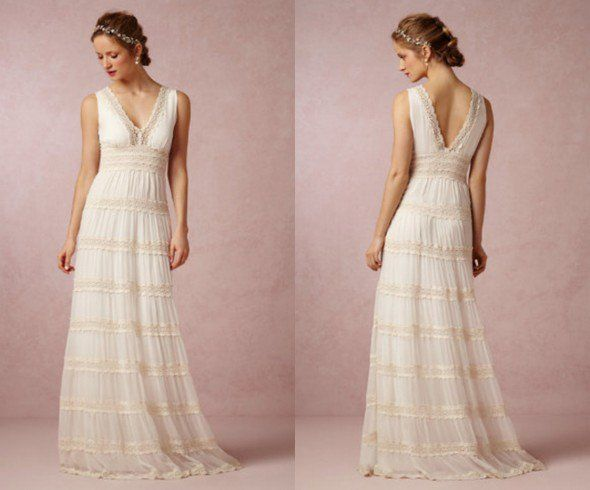 Back Yard Wedding Dresses for Renewal