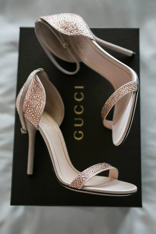 My Wedding Shoes Crystal Gucci Blush Wedding Shoes Shoes Heels