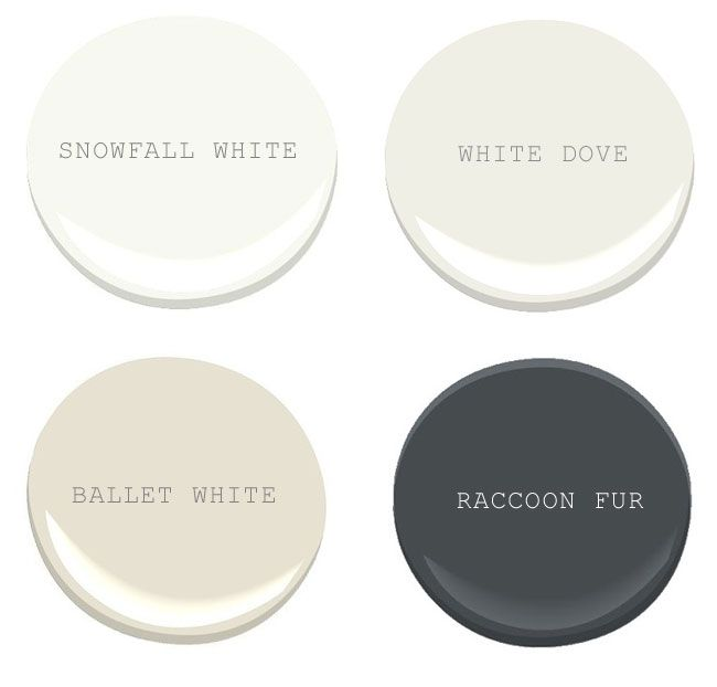 Benjamin Moore White Dove Exterior And Trim   Might Be The Right White To  Repaint In The Kitchen, Especially With The Charcoal Grey Soffit. Part 59