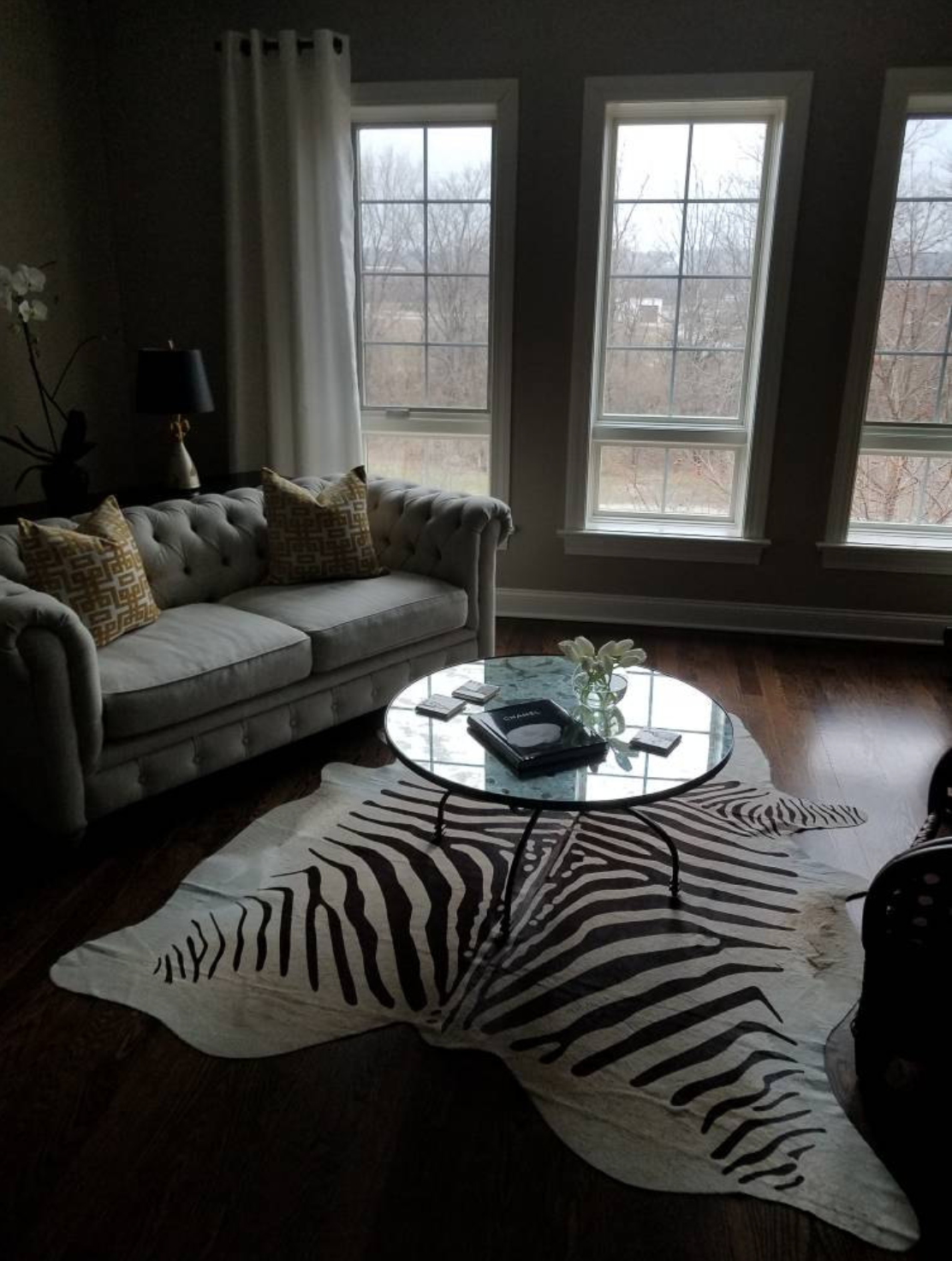 Zebra Print Cowhide Rug Photo Shared By One Of Our Hy