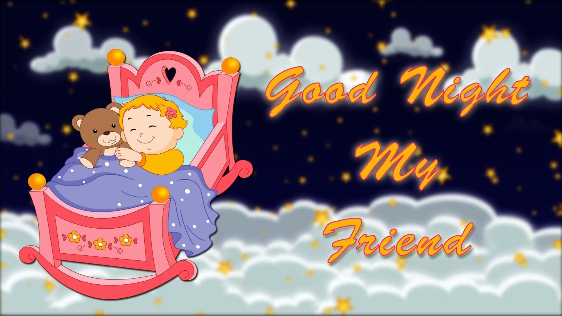 Amazing Good Night And Sweet Dreams