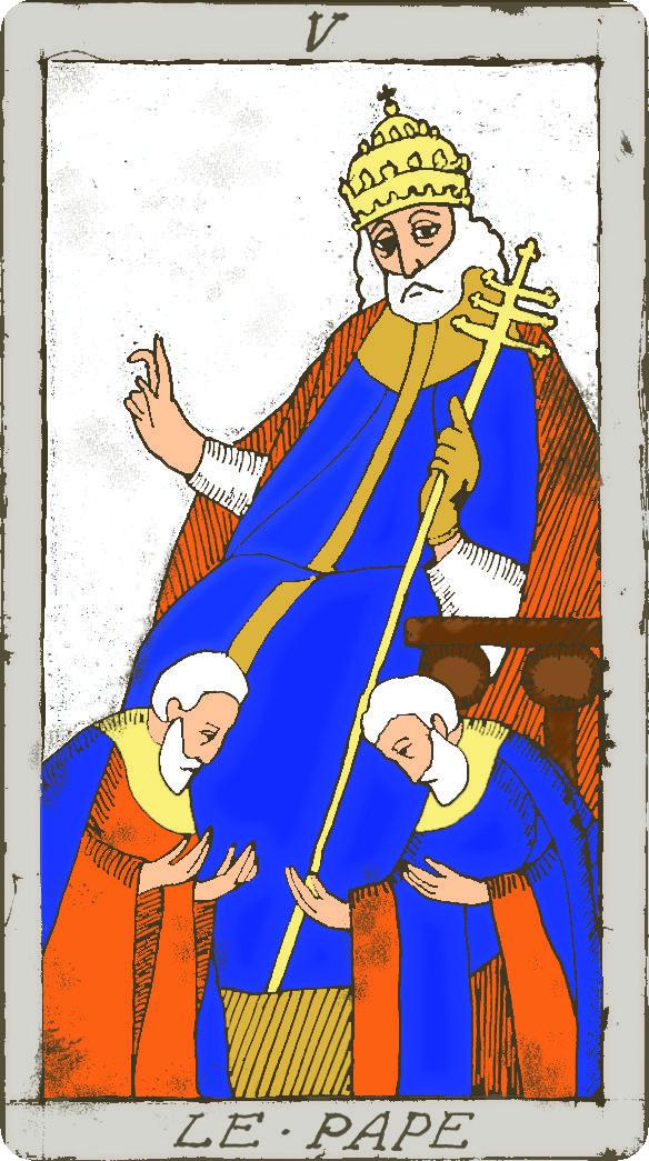 Leer y echar las cartas del tarot