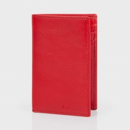 Paul Smith Men's Wallets - Red Leather Credit Card Wallet.  Another very cool little wallet.