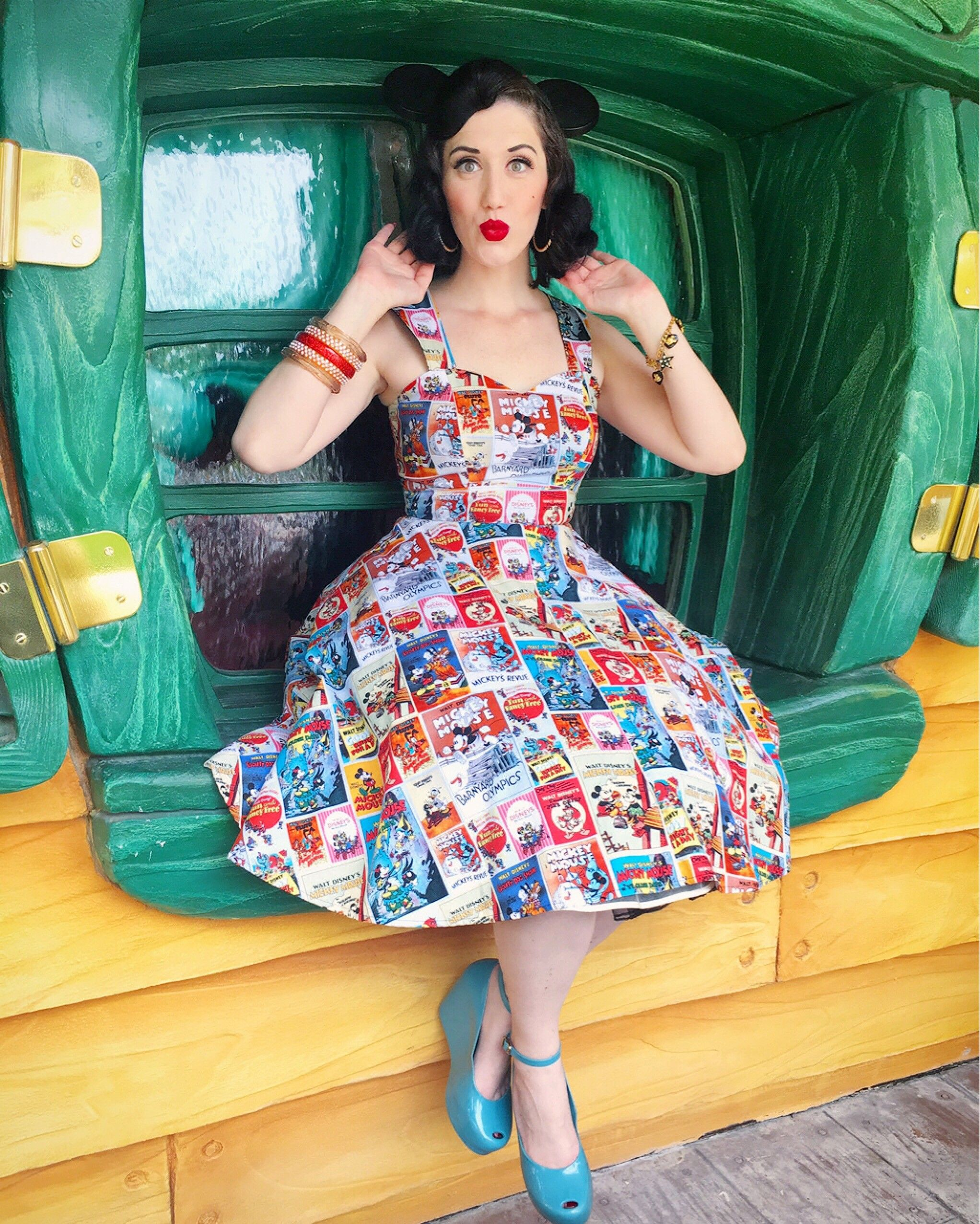 Mickey Mouse - Swing Dress - Disney