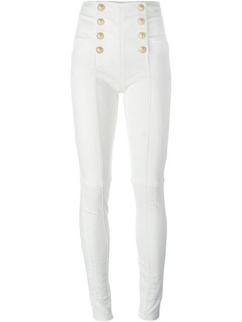 BALMAIN front button trousers. #balmain #cloth #trousers