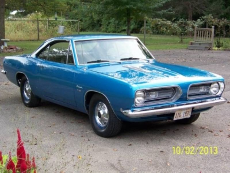 1968 Plymouth Barracuda For Sale in Mundelein, Illinois | Old Car ...