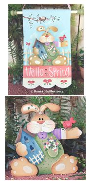 #613  Hello Spring (Pattern Packet)