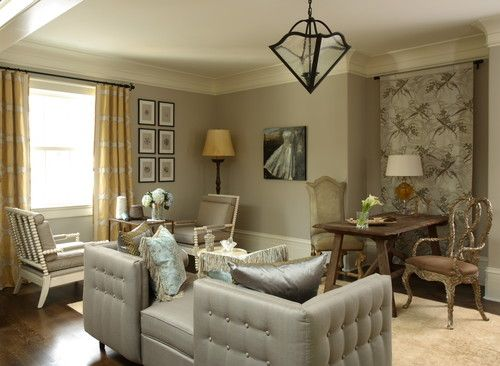 Beautiful Gray Paint Colors for Living Room