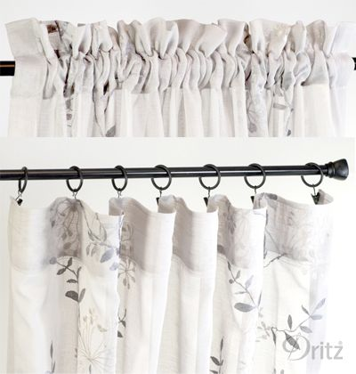 Diy Home Decorating Easy Curtain Upgrades Diy Curtains How To