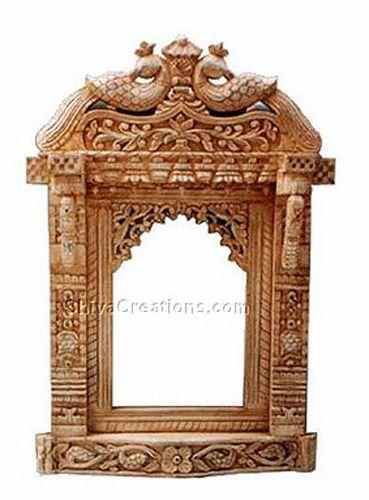 Indian Mirror Frames Antique Wooden Mirror Frame Carved Wood