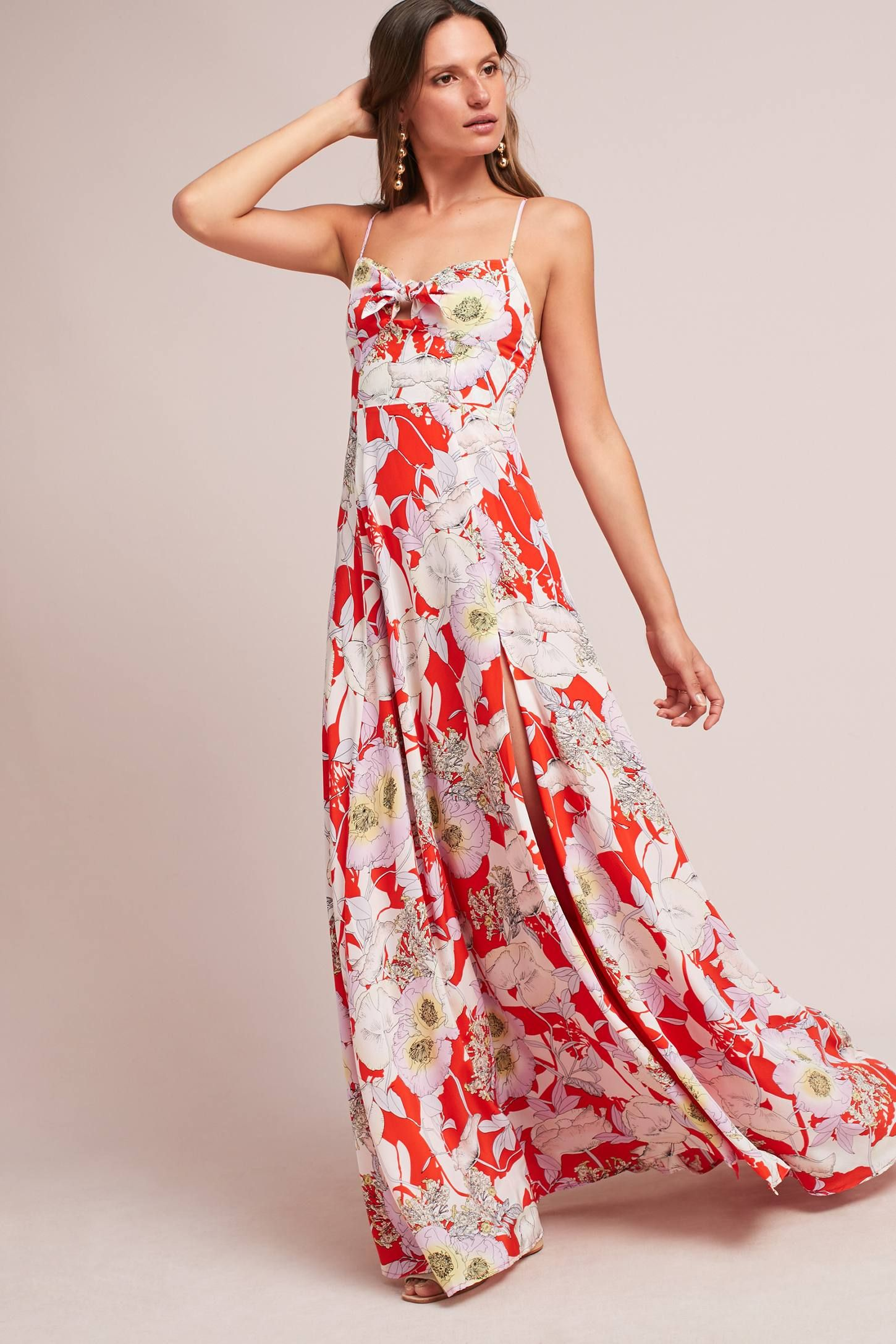 cd391c48e4db Shop the Rio Silk Maxi Dress and more Anthropologie at Anthropologie today.  Read customer reviews, discover product details and more.