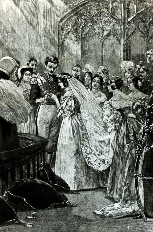 The Marriage Of Queen Victoria 1819 1901 To Prince Albert 1819 1861 Of Saxe Coburg Go Queen Victoria Wedding Queen Victoria Queen Victoria Prince Albert