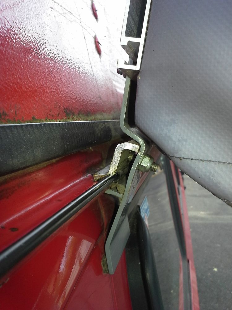 Stainless Steel Bracket Set For Arb Awning 80 91 Vanagon