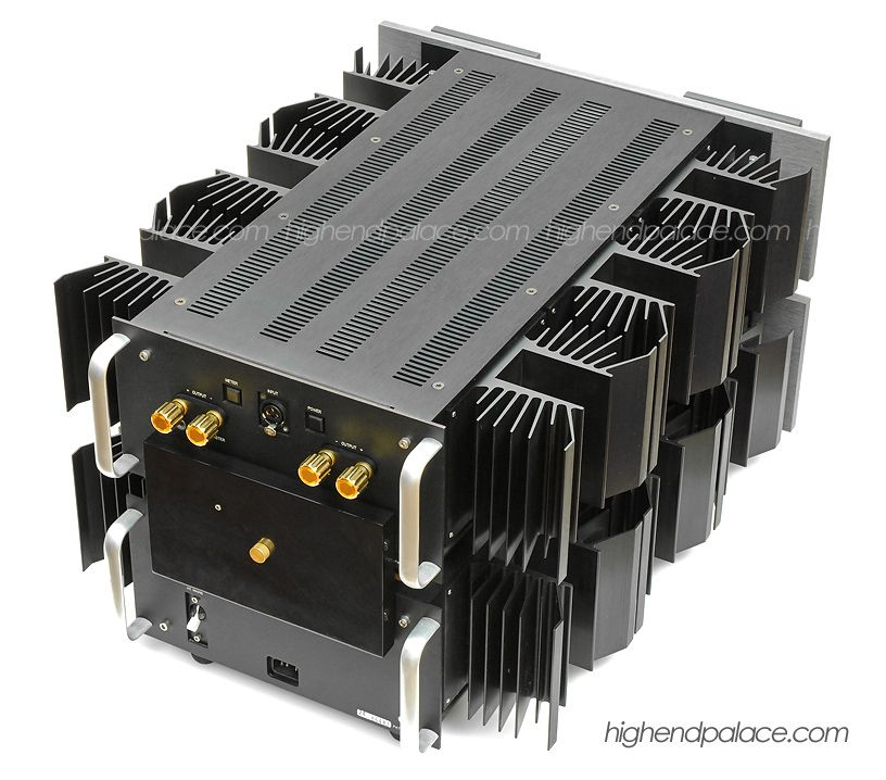 Krell Audio Standard (KAS) Monoblock Power Amplifier (rear).