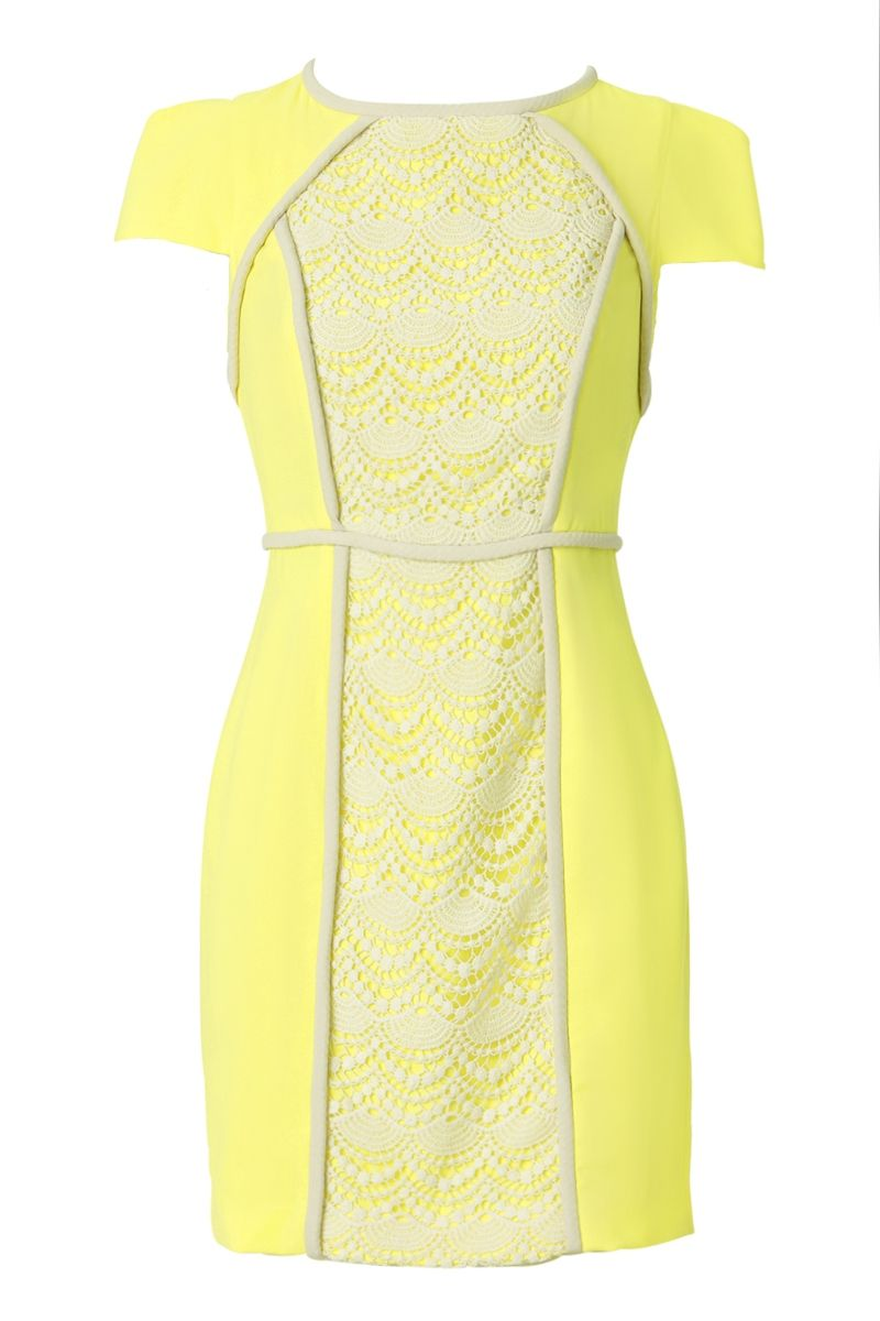 If only yellow looked good on me shieke audrey lace dress my