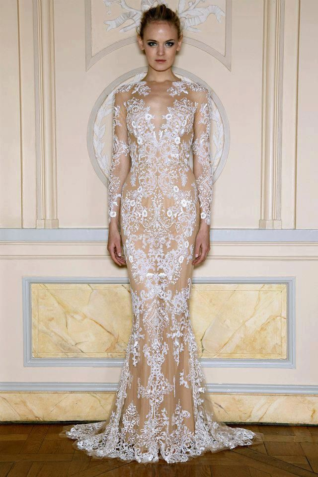 Zuhair Murad Spring 2013 Collection In Place Of The All White Wedding Dress