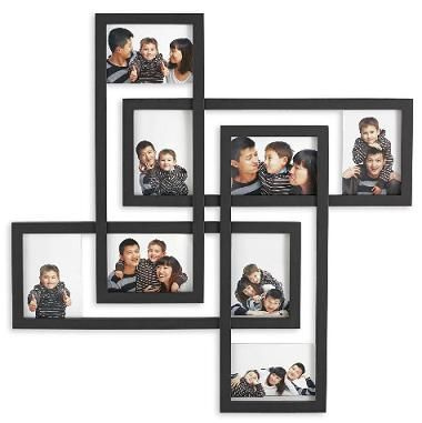 picture-frame-collage-ideas in 2019 | Multiple picture frame ...