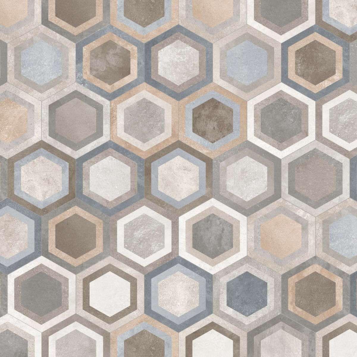Cementine Esagonali Per Il Bagno Foto 14 25 Design Mag Con