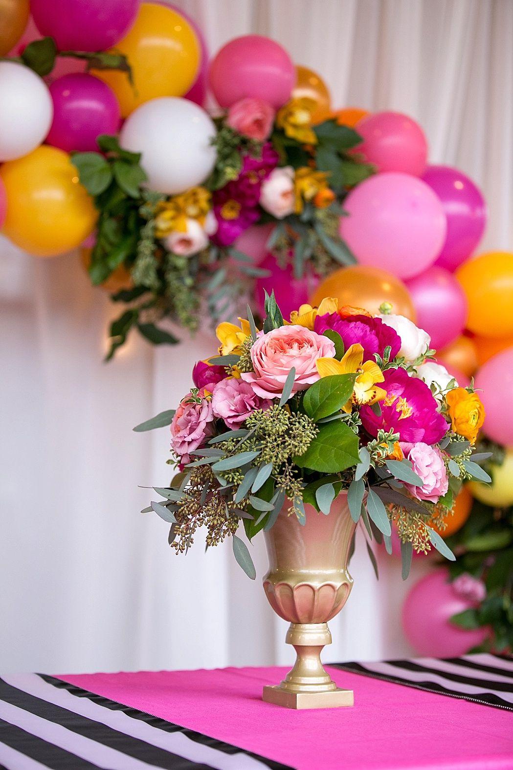Kate Spade Inspired Wedding Colorful Wedding