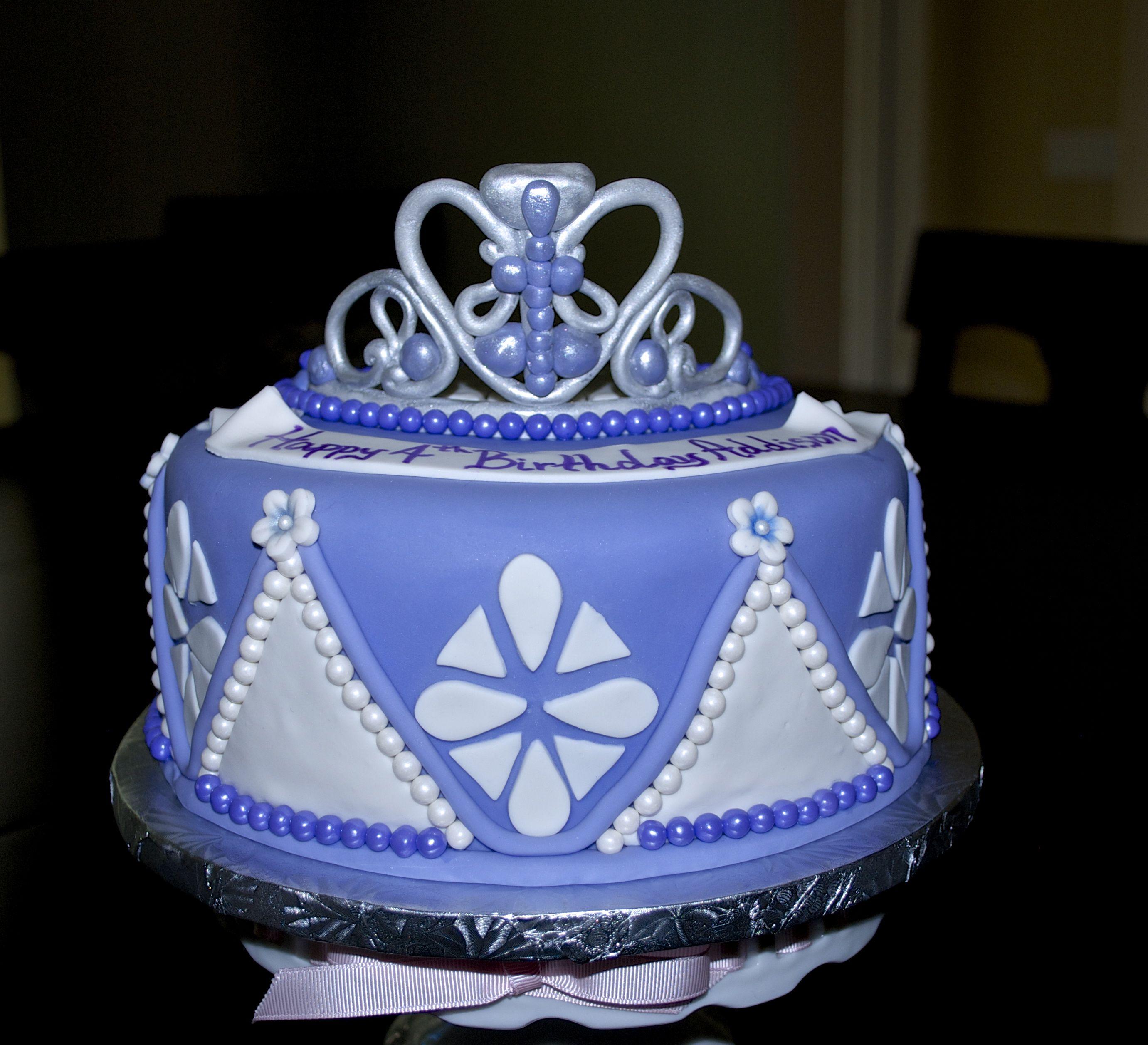 Princess sofia inspired cake cake desserts bakery