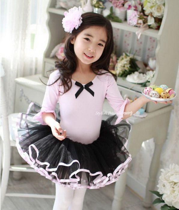 aecf520a0edd Retail Free Shipping Girls Kids Toddler Ballet Dance Elegant Tutu ...