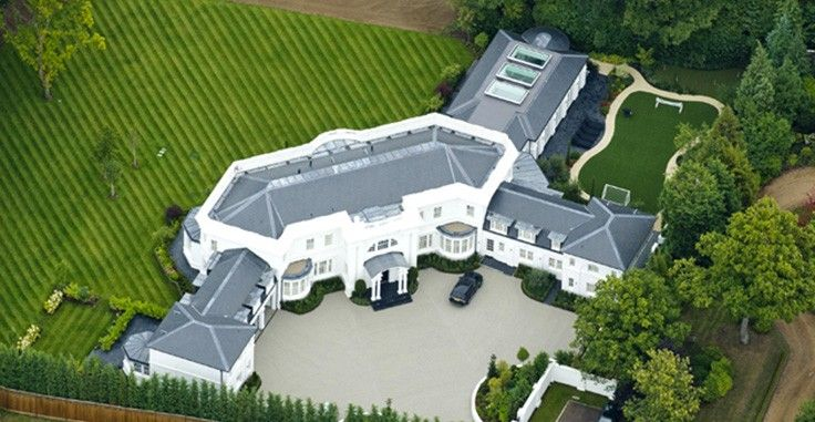 Most Expensive Homes Of Footballers   Football Is An Immensely Popular  Sport In Many Parts Of The World. Many Talented Footballers Have