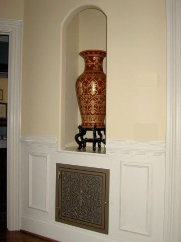 Return Air Vent In Wainscoting Dream Home Pinterest