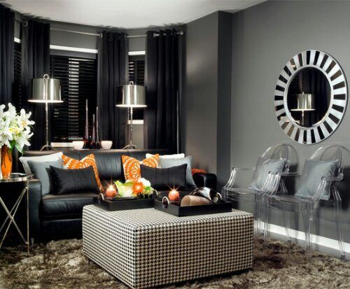 The 25 Best Charcoal Living Rooms Ideas On Pinterest