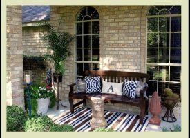 Small Front Porch Seating Ideas Outdoor Decor 14 Casual Comfy