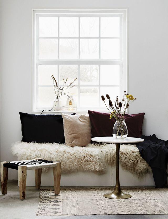 salon cosy id es d co pour un salon chaleureux et cocooning small space pinterest home. Black Bedroom Furniture Sets. Home Design Ideas